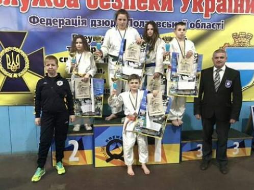 Юні дзюдоїсти з Любомльщини з нагородами