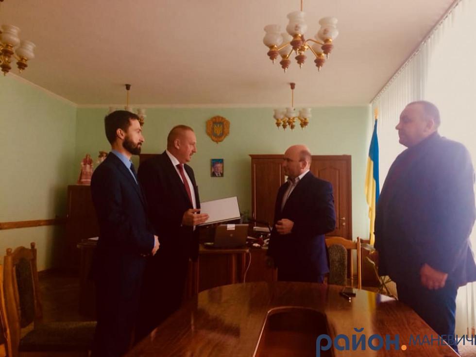 У Маневичах побувала делегація з Республіки Польща