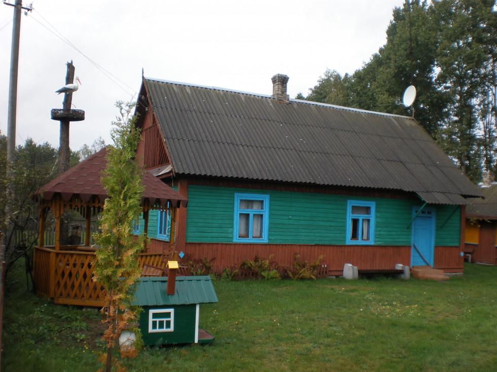 Сільська хатина