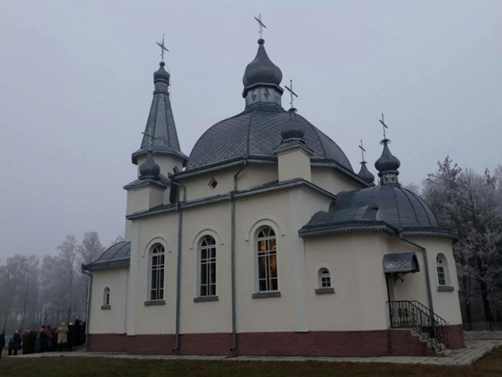 Храм Різдва Христового в селі Великий Курінь