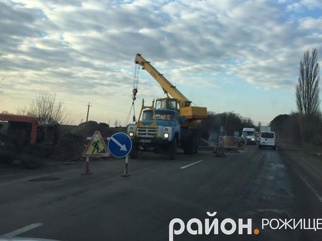 У Копачівці ремонтують дорогу