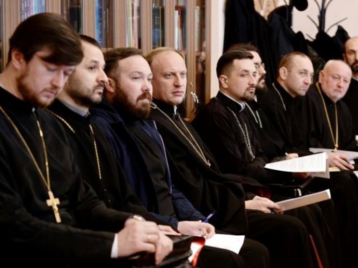 Представники Володимирської єпархії побували на зустрічі з Митрополитом Епіфанієм