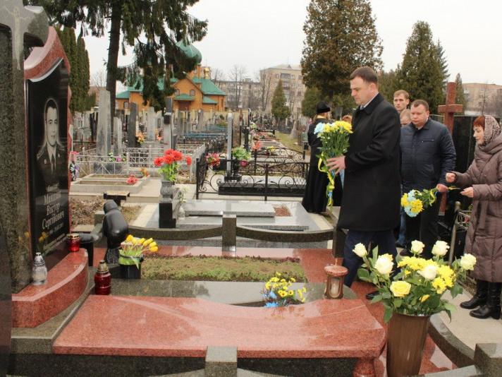 СБУ вшанувала пам'ять загиблого капітана Віктора Мандзика