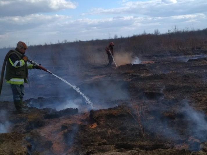 Пожежу гасили 21 березня