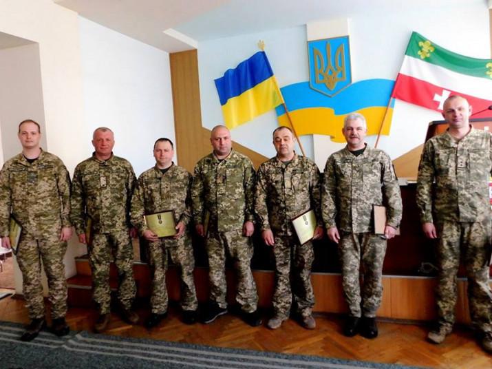 Гощанських атовців нагородили відзнакою Президента України