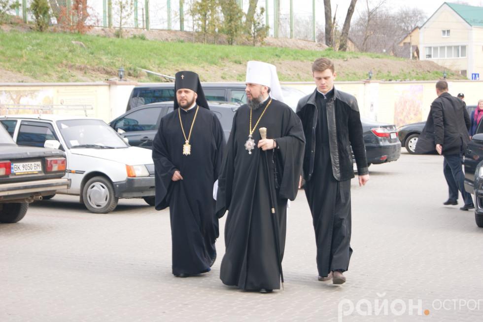 Приїзд митрополита Епіфанія