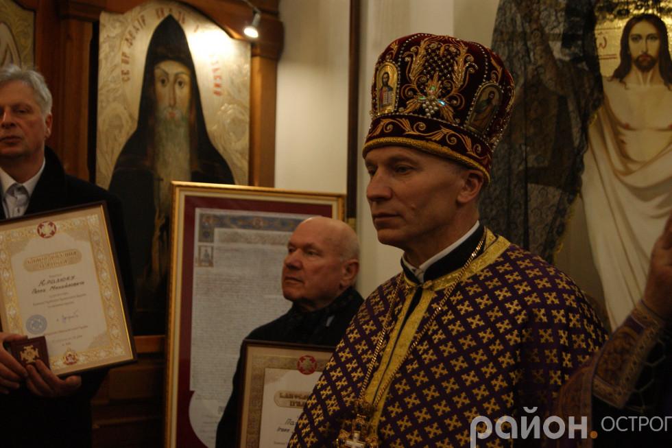 Благочинний отець Юрій Лукашик на богослужінні