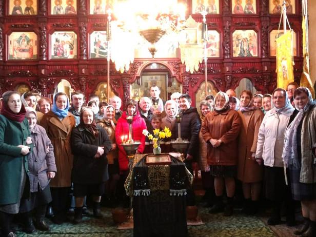 У Свято-Космо-Даміанівському храмі села Розваж відбулося перше богослужіння українською