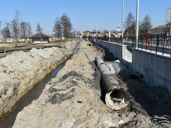 Реалізація великого інфраструктурного проекту каналізування населених пунктів навколо озера Світязь