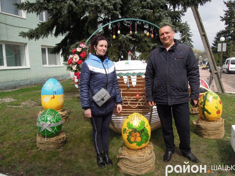 Викладач коледжу Ігор Вільнер з дружиною Іриною