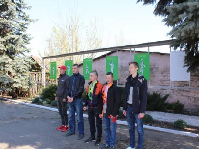 Урочисто провели на службу строковиків з Любомльщини