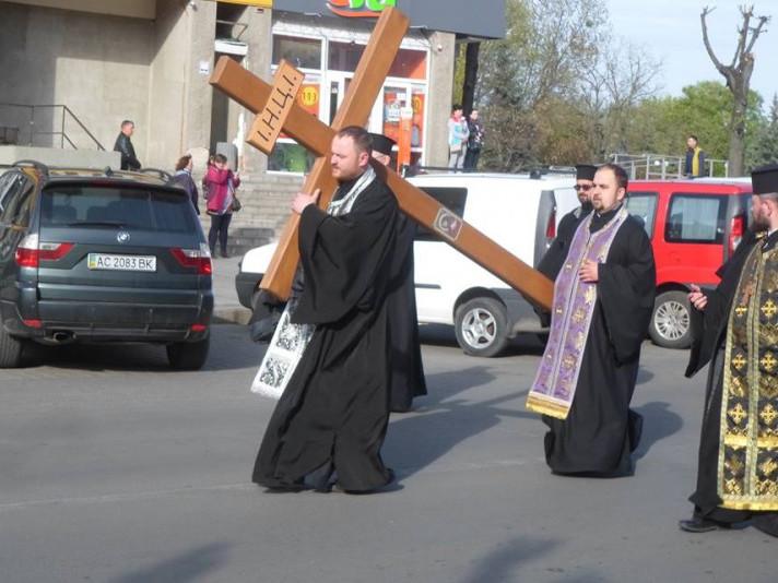 У Ковелі відбулася Великодня Хресна хода