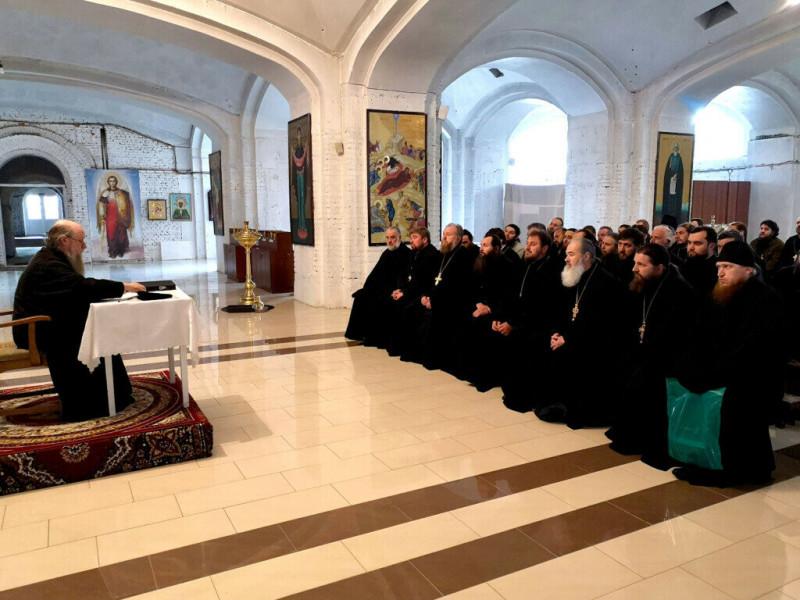 Збори очолив єпископ Волинський і Луцький Нафанаїл