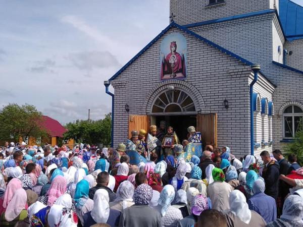 Заболоттівський храм відзначив перстольне свято