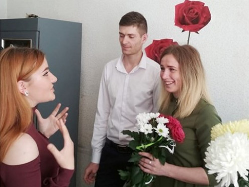 У Любешеві одружилась інтернаціональна пара