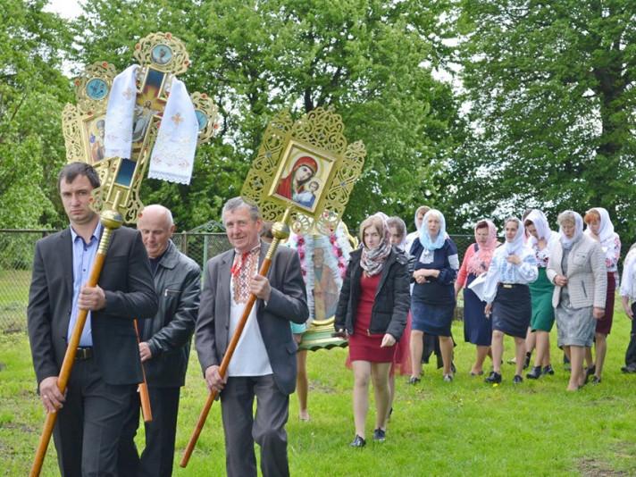 У селі на Волині відзначили храмове свято