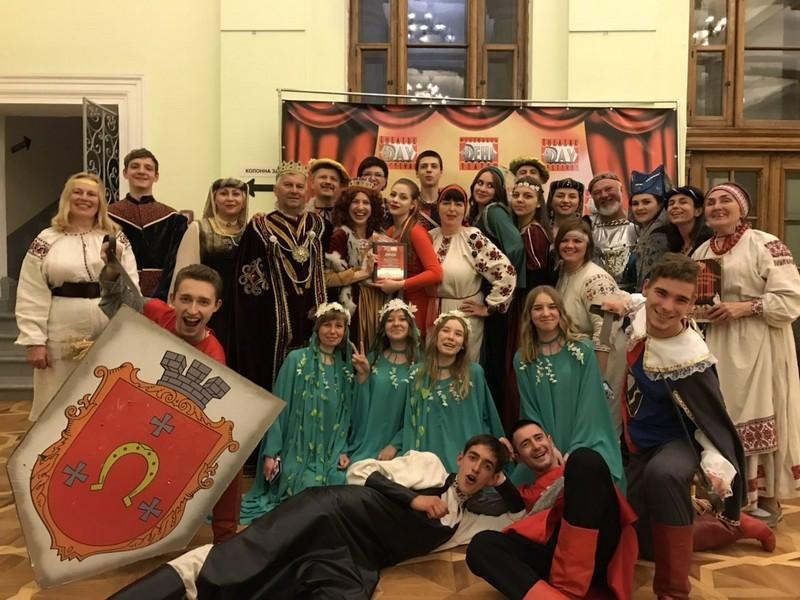 Ковельська театральна студія виступила у Києві