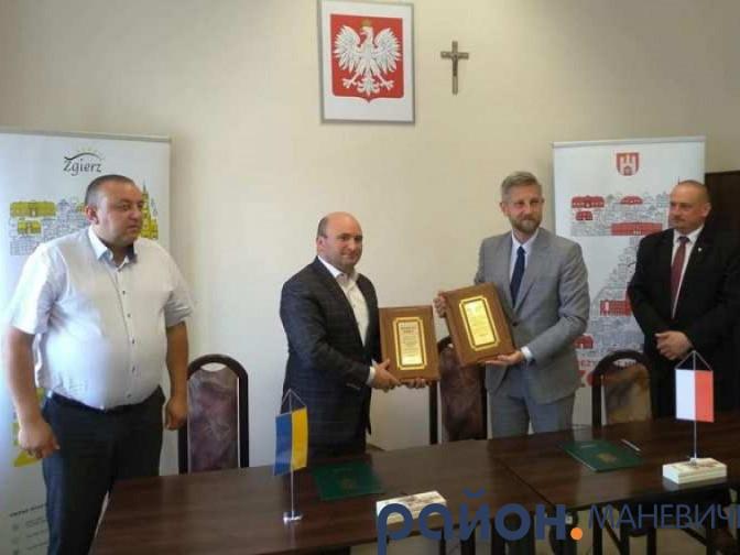 Маневичани у польському місті Згеж відзначили 20 років співпраці
