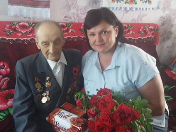 Леонтій Антончик з Ольгою Кух