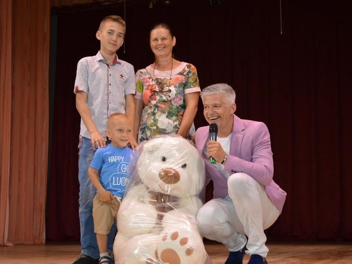 У Ковелі з благодійним концертом виступив Сергій Скулинець