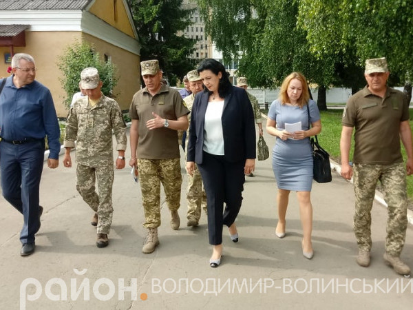 Волинську бригаду відвідала віце-прем'єр-міністерка
