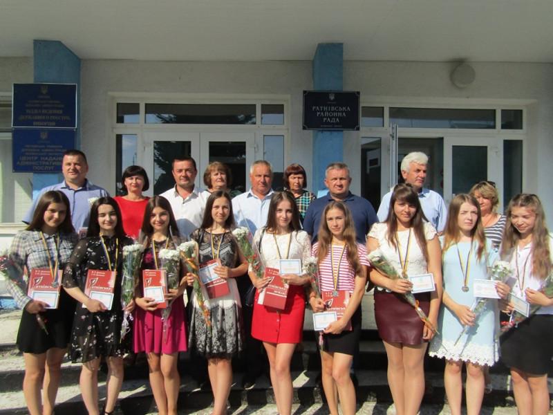 Медалісти Ратнівщини