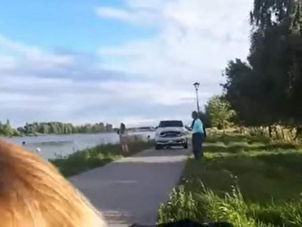 У Ковелі невідомі каталися на авто на набережній