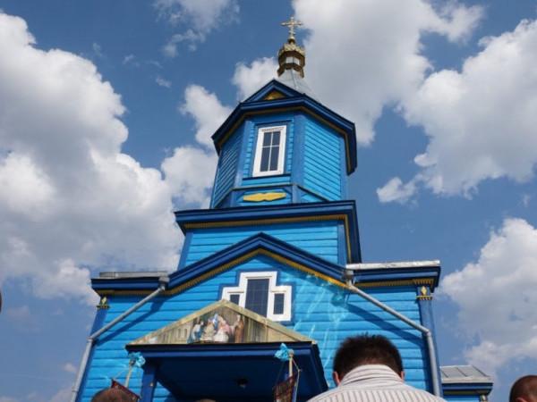 Церква Різдва Пресвятої Богородиці села Сусваль