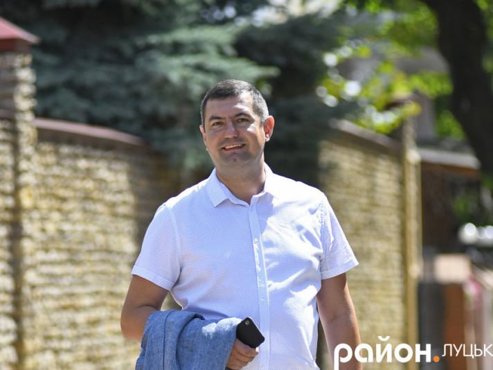 Перший заступник міського голови Григорій Недопад