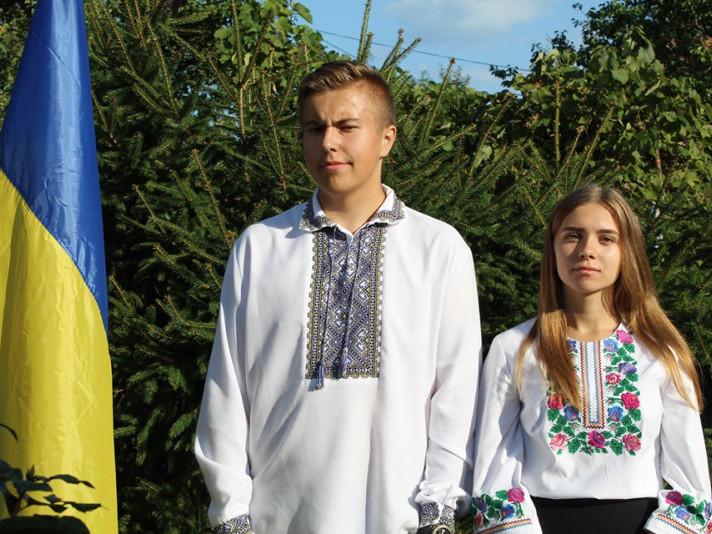 У Ратному урочисто підняли Державний прапор України