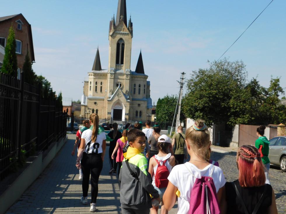 Учасники квесту мали нагоду ознайомитись з вулицями Старого міста