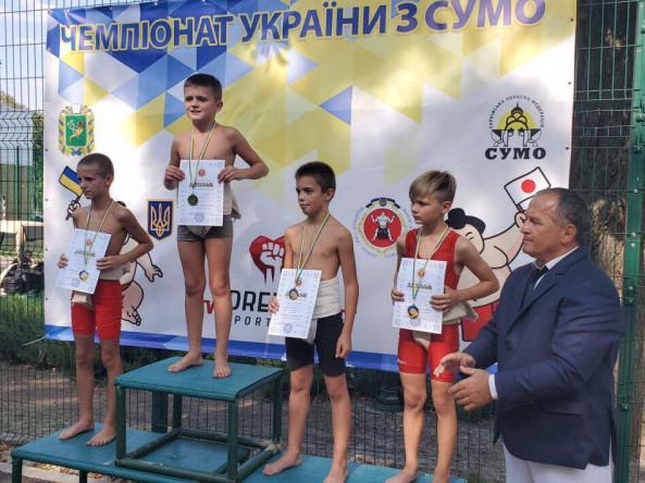 Шестикласник із Любомля став чемпіоном України з сумо