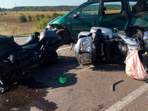 На трасі«Ковель-Ягодин» на смерть розбився мотоцикліст