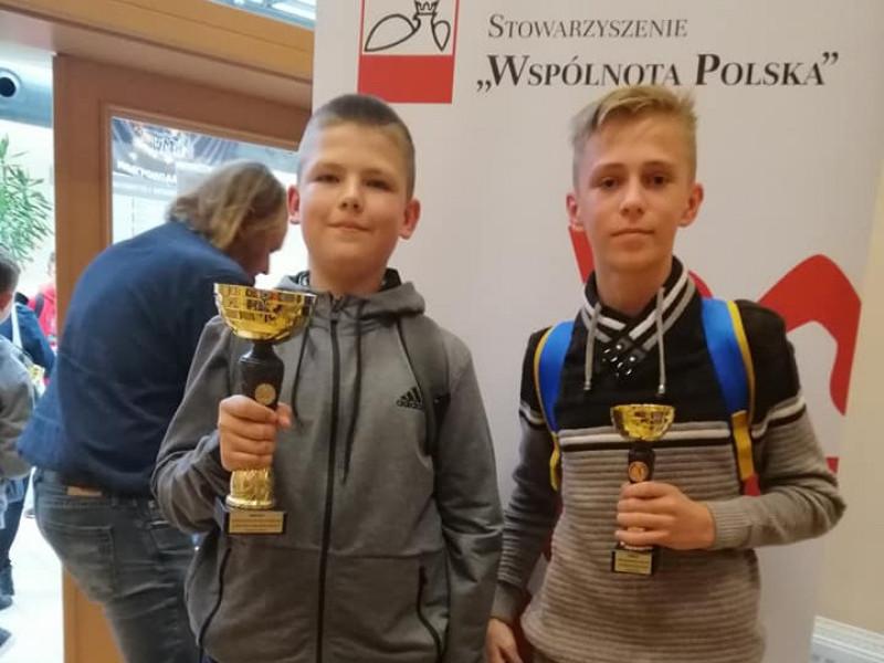 Гощанські школярі перемогли у польському конкурсі з математики