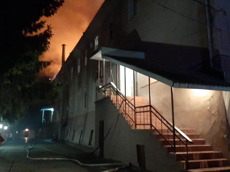 Пожежа у Луцьку