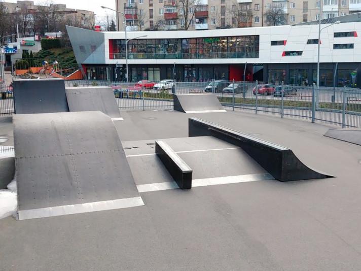Скейт-парк у Луцьку