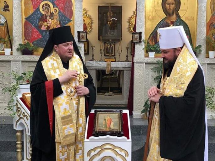 Єпископ Матфей взяв участь у молебні до рівноапостольного князя Володимира в Спасо-Преображенському храмі