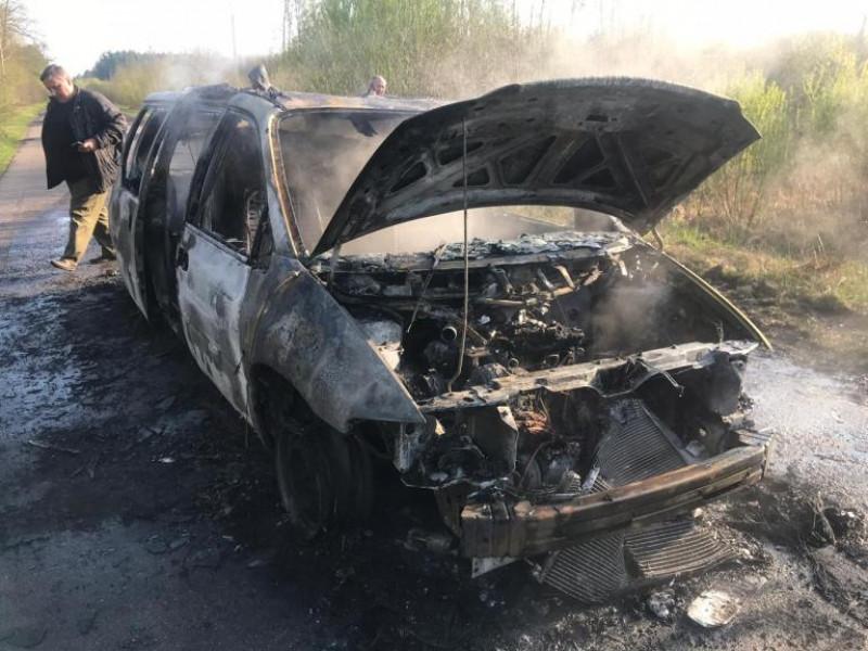 Спалене авто