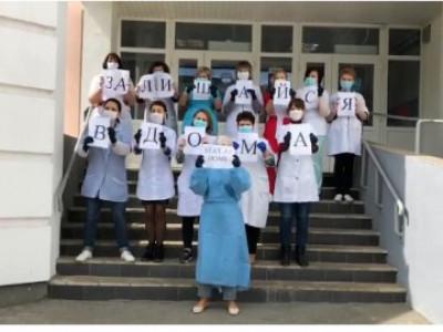 Медики луцької«первинки» зняли новий«противірусний» хіт