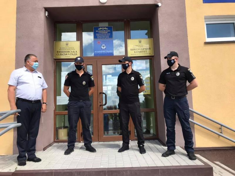 У Вишнівській громаді відкрили поліцейську станцію