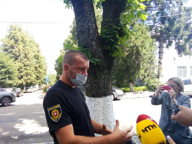 Начальник кримінальної поліції Сергій Волков