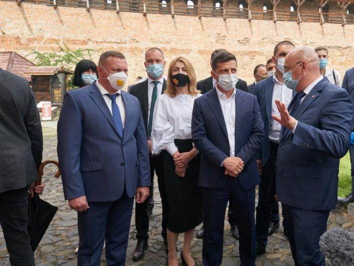 Президенту розповідають про туристичні маршрути Волині