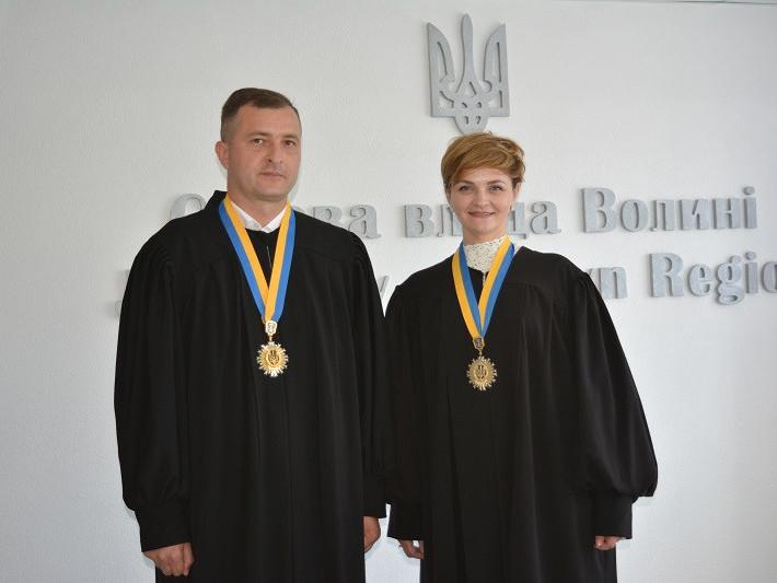 Новопризначені судді