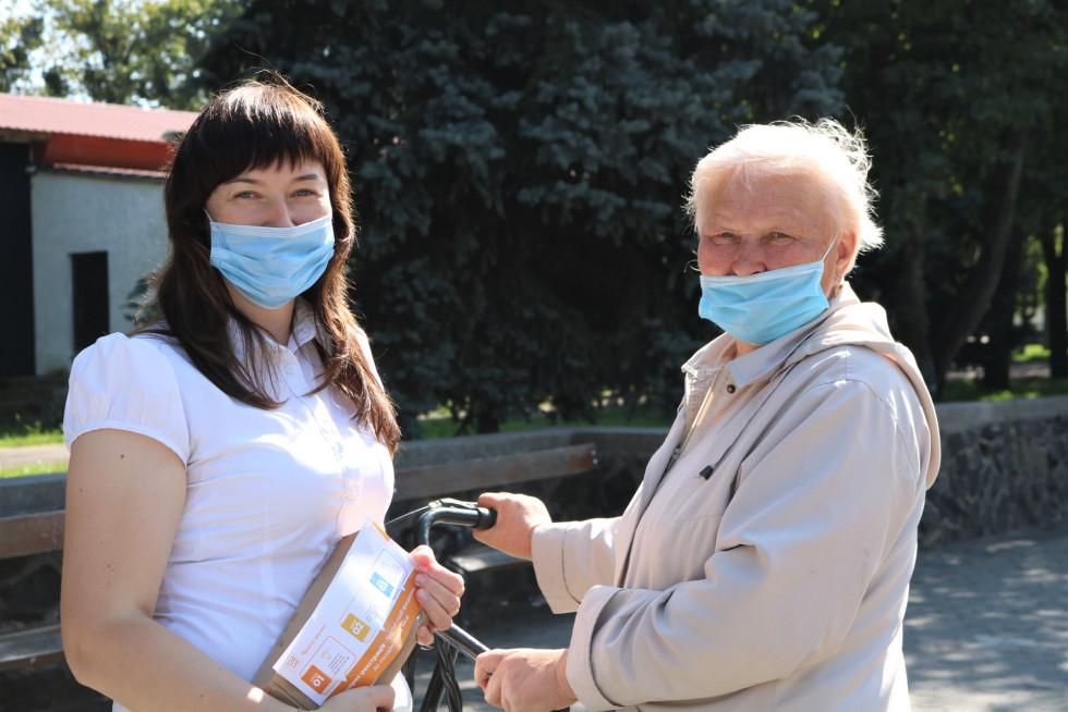 Ольга Півень та Ганна Романчук