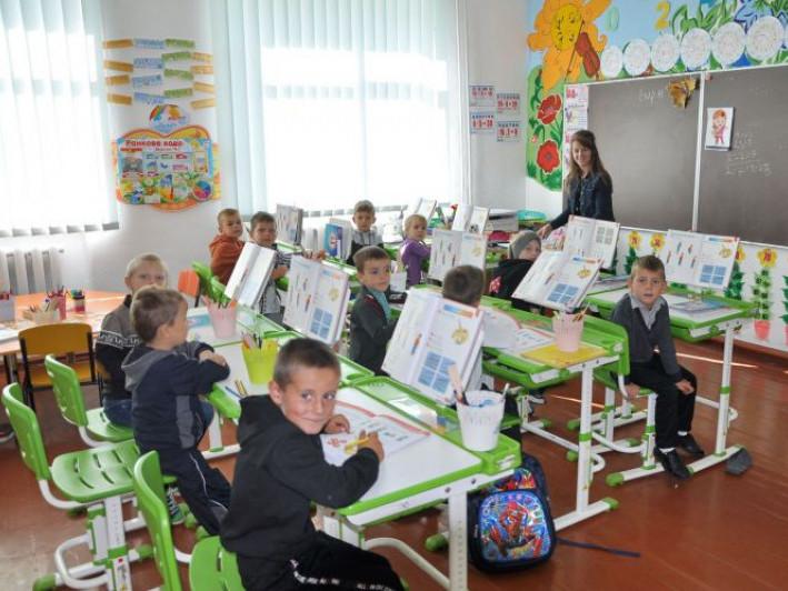 Навчання в Цепцевицькій школі