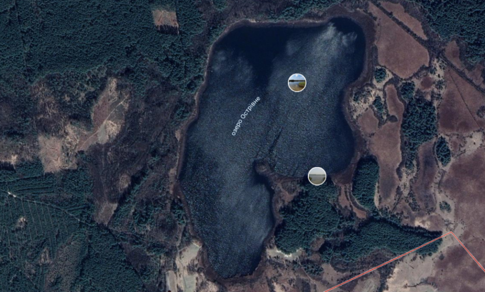 Знімок з Google Earth