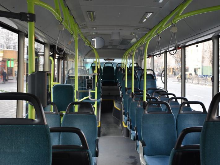 Салон нових тролейбусів