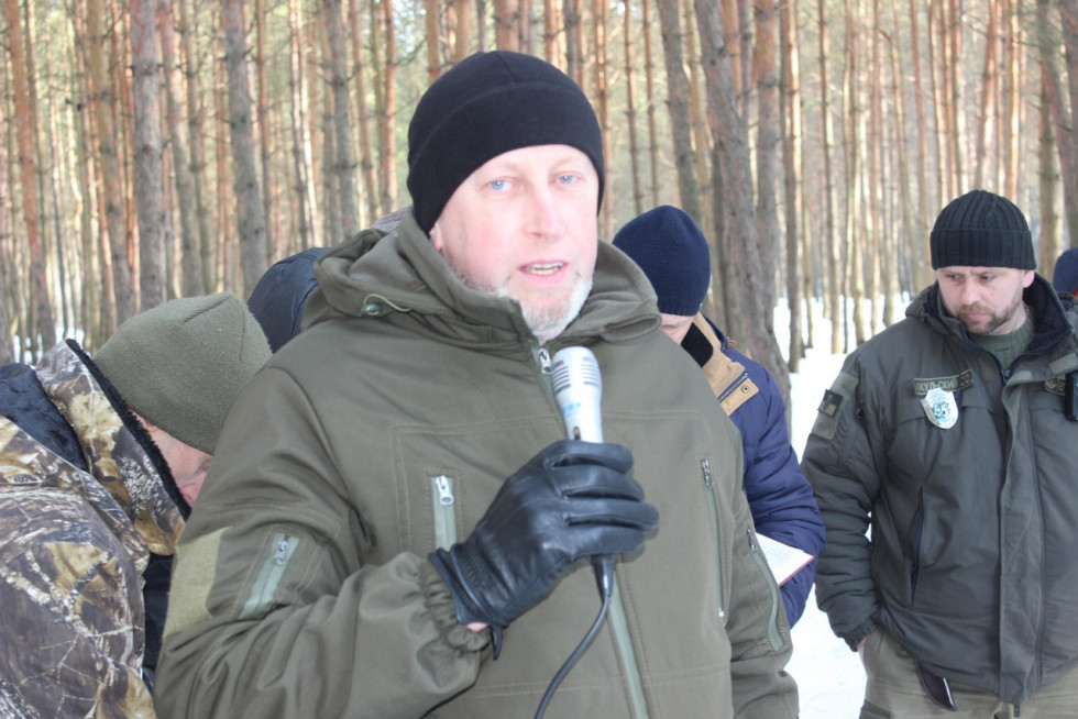 Керівник Волинського рибоохоронного патруля Тарас Куньчик