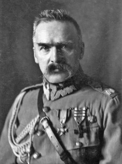 Маршал Юзеф Пілсудський, керівник Польщі