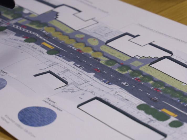 Зелені зони та єдиний дизайн: якою буде центральна вулиця Луцька після ремонту